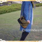 Rema-Kのポシェット(大)シンプルな服がグッと華やぐ自分だけの一点もの!