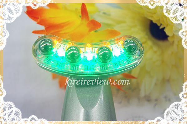 3色の美容LED