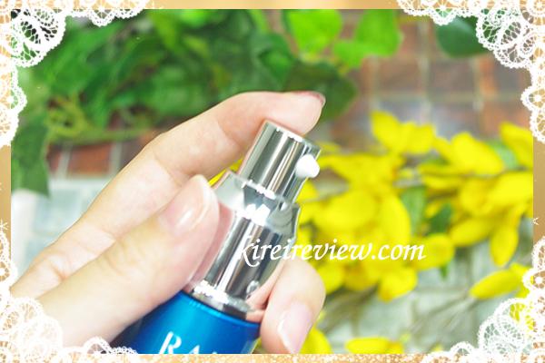 化粧水のあとに1〜2プッシュ